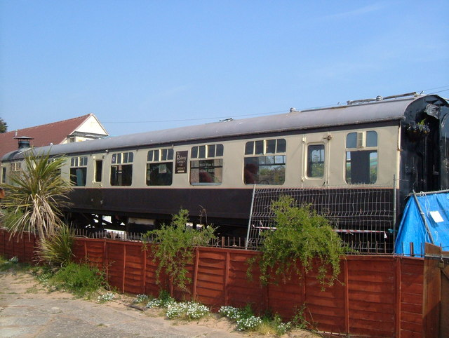 Railway Carriage at Exmouth