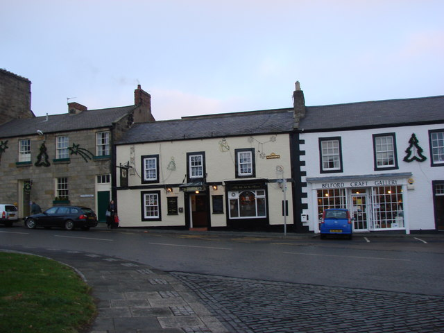 The Black Swan Pub, Belford