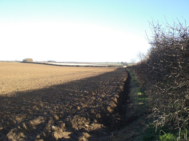 Fresh plough between Syderstone and South Creake