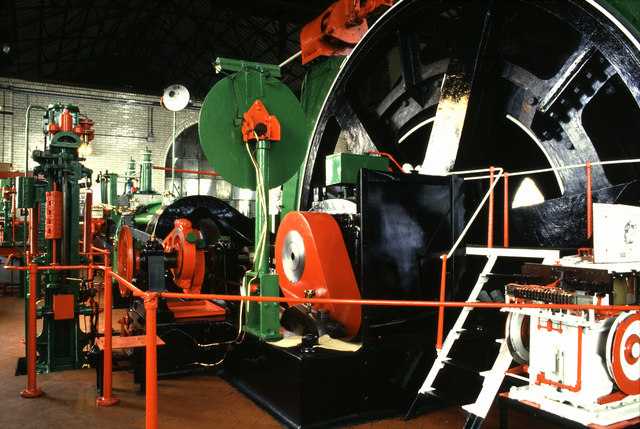 Hesketh steam winding engine