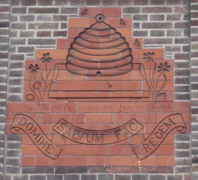 Beeston Town Hall (detail)