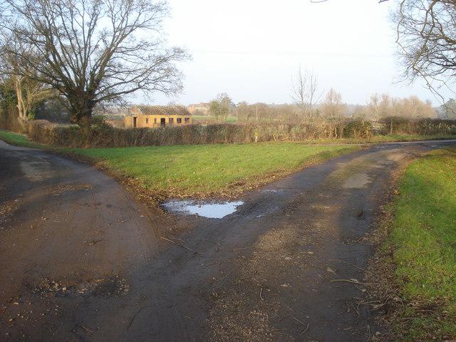 Track from Woodbridge Farm