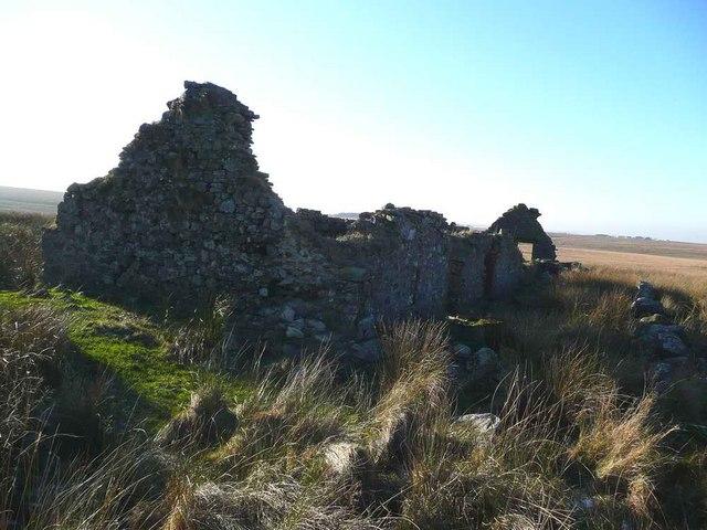 The ruin at Muirhead