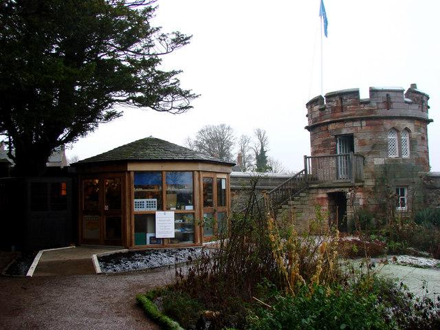 The Entrance to Dirleton Castle