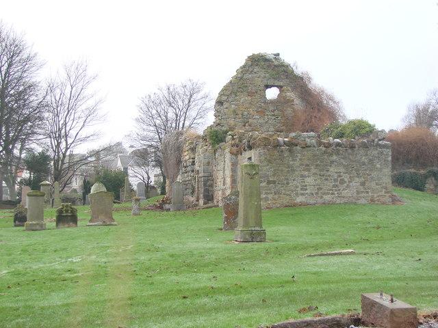 The 'Auld Kirk' of St Andrew, Gullane