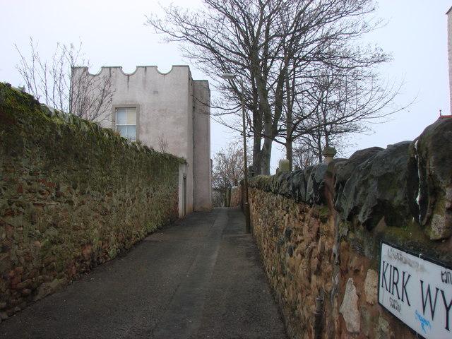 St Ringans Tower, Kirk Wynd