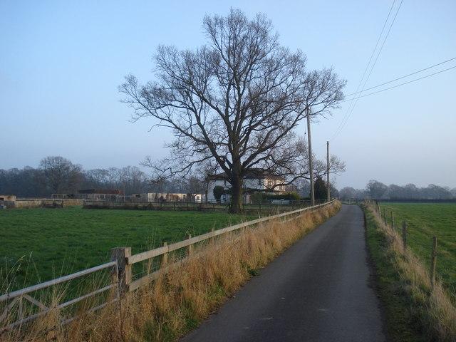 House on the Home Farm lane