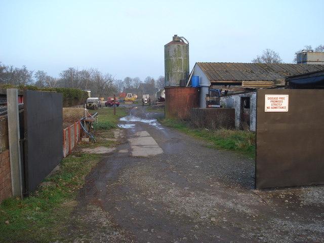 Yard on the Home Farm lane