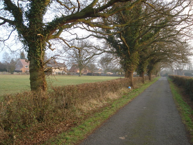 Outskirts of Hanley Swan