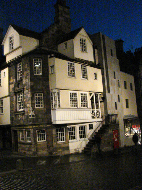 John Knox House, High Street, The Royal Mile