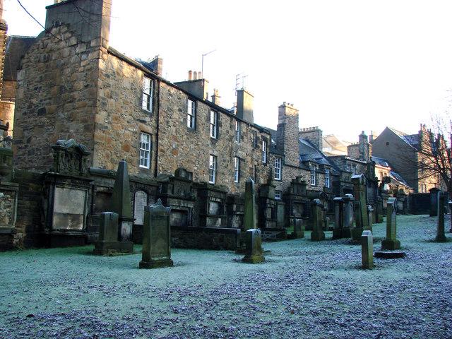 Tombstones in Greyfriars Church Yard