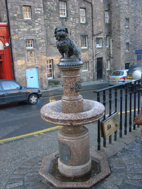 The 'Greyfriars Bobby' Statue