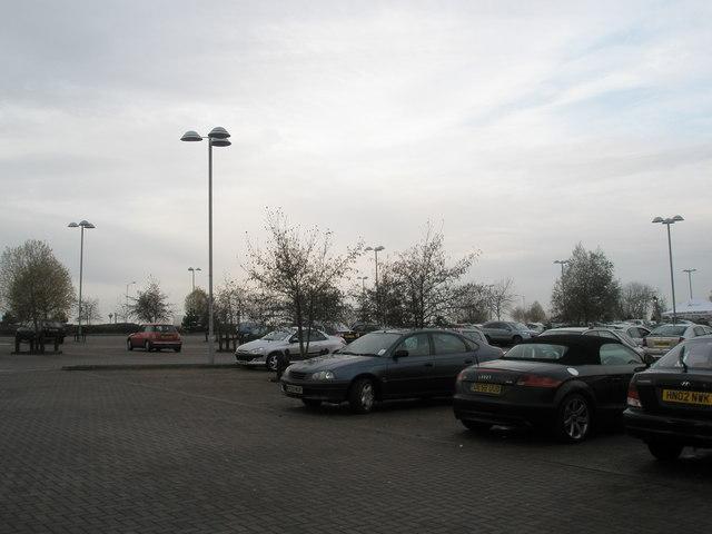 Car park at Port Solent