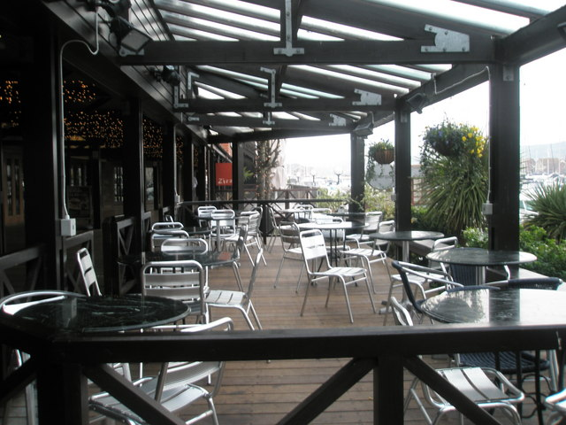 Patio at Lloyds No 1
