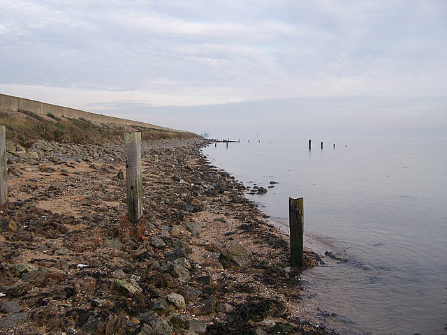 Isle of Grain shoreline