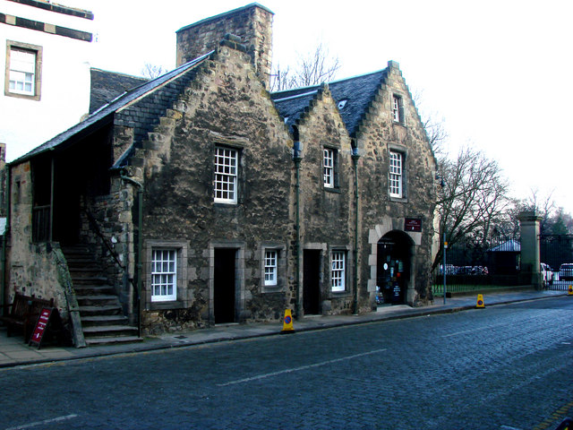 The Tourist Information  Office, Holyrood Palace