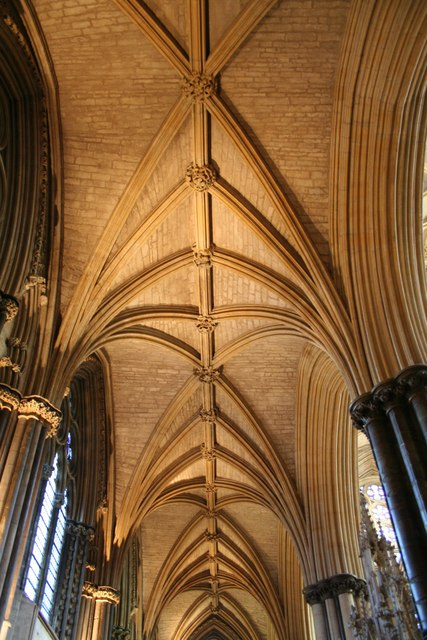 North Choir Aisle vaulting