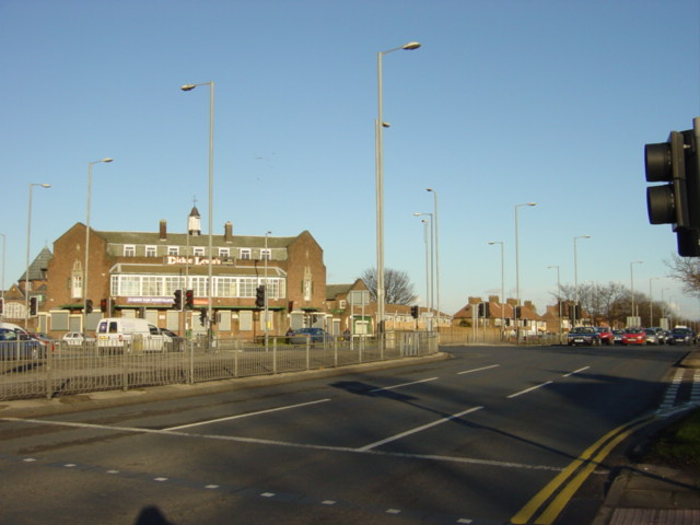 Dickie Lewis's - Junction of East Lancs Road