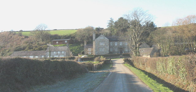 Castellmarch manor house and converted former farm buildings