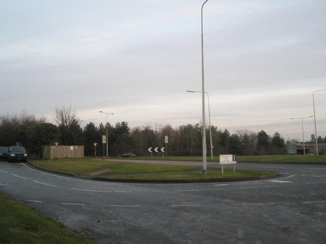 Rusty Cutter Roundabout