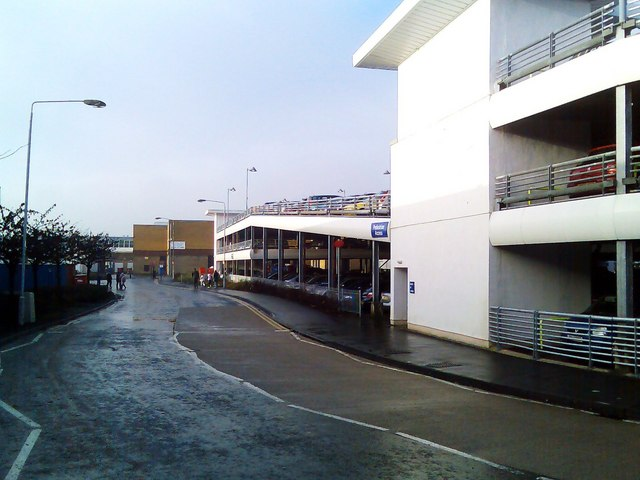 Car park at Clyde Shopping Centre