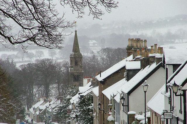 Eaglesham in the Snow