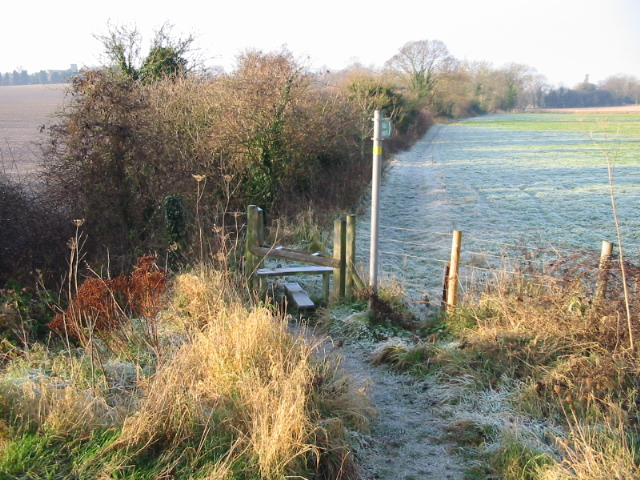 Footpath to Eastry