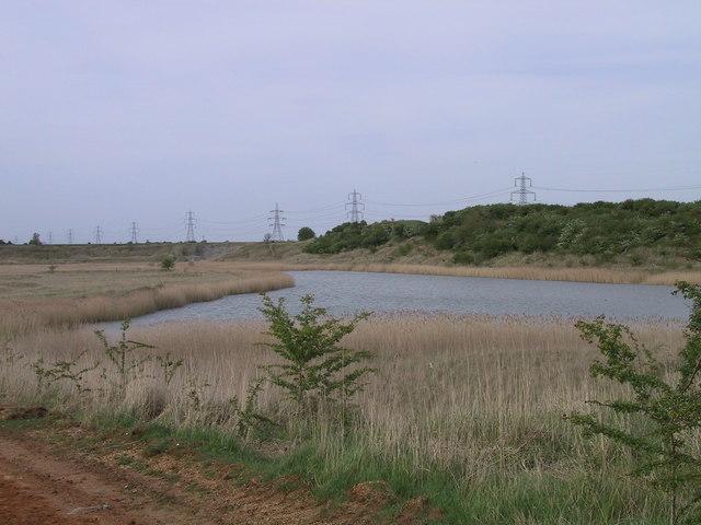 Flooded Burwell Brick Pits