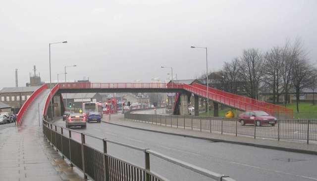 Footbridge over Manchester Road