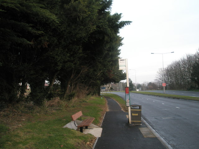 Seat by bus stop