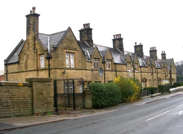 Bowling Dye Works Almshouses - New Cross Street