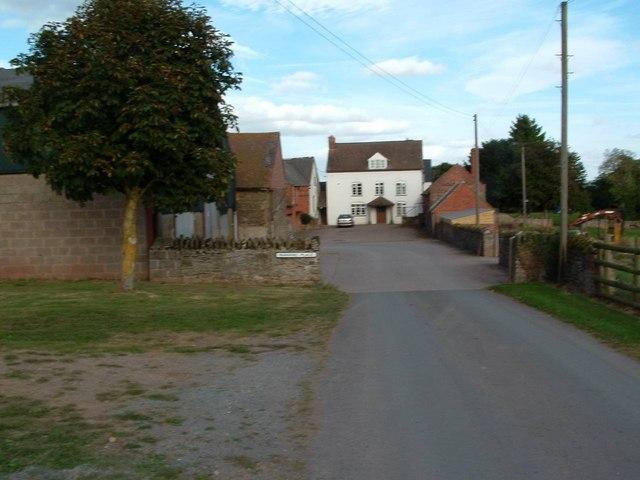 Hill Farm (Benbow's Farm) Castle Frome