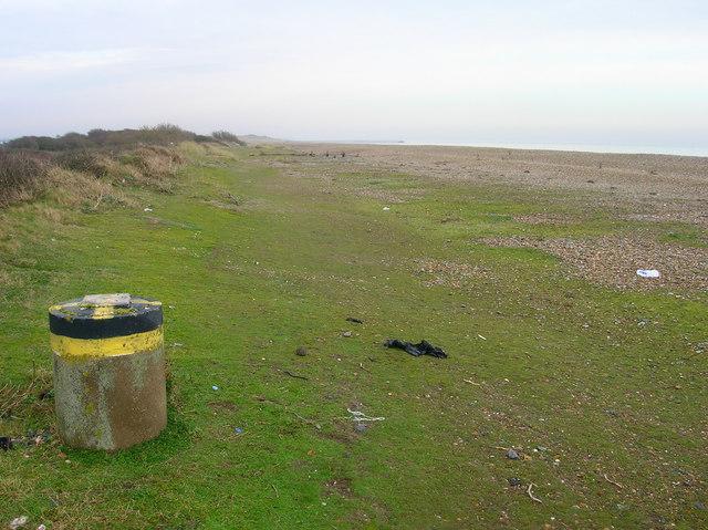 Marker, Atherington Beach