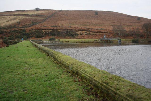 Dam Wall, Upper Oakdale Reservoir