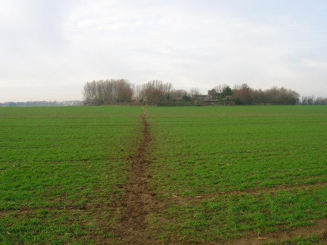 Footpath to Kents Farm