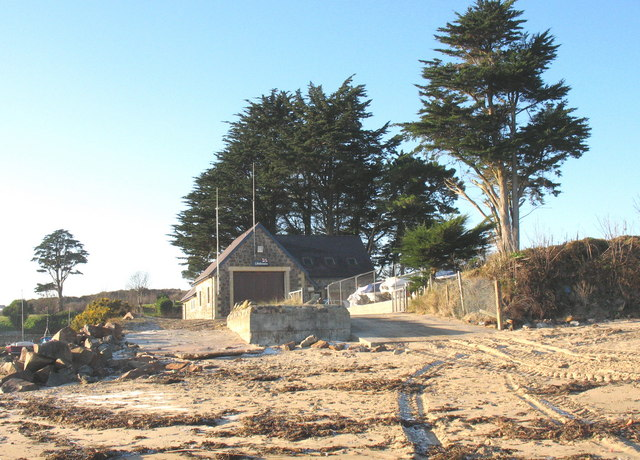 The RNLI Inshore Rescue Boat Station, Abersoch