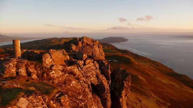 Summit of Dun Caan