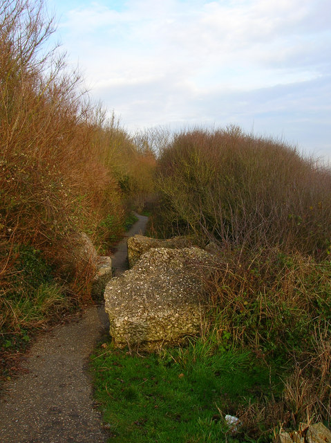 Footpath to Climping Street