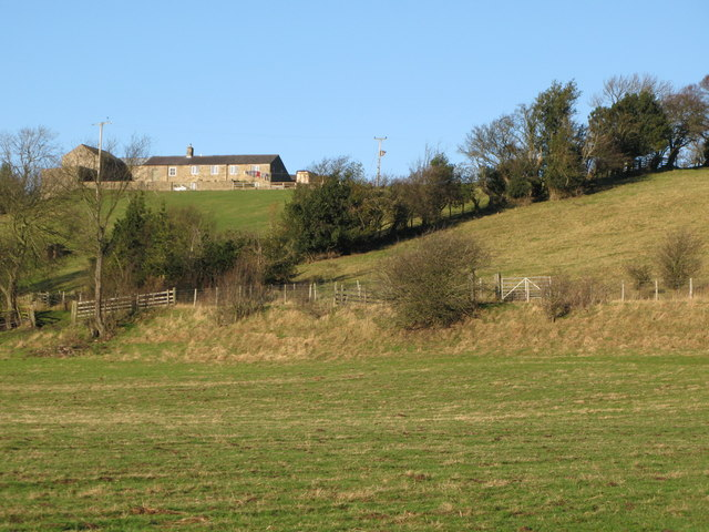 Pastures below Struthers