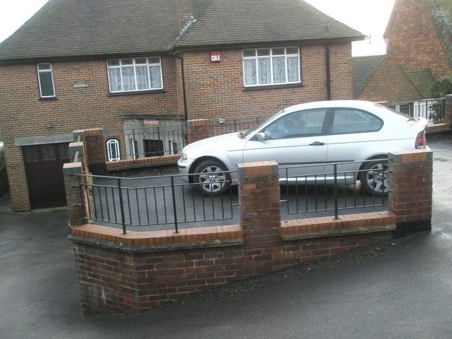 Unusual car parking solution