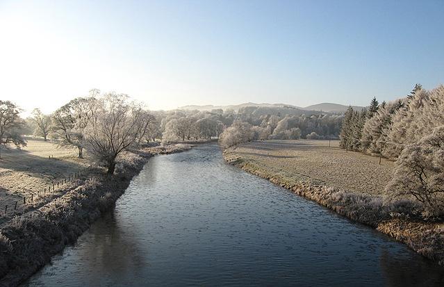 The River Tweed from Tweed Bridge