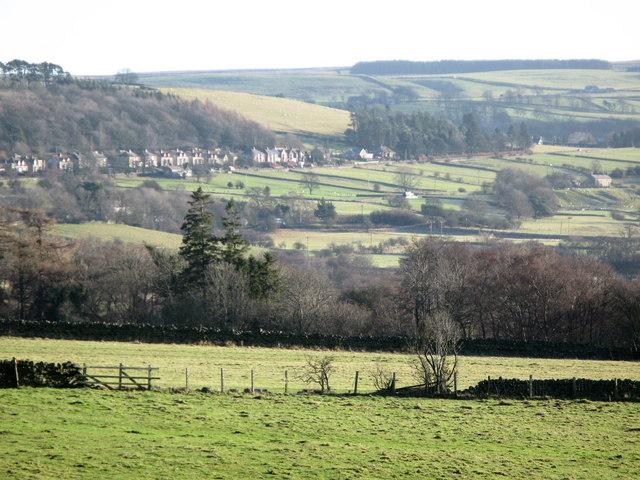 Pastures west of Catton