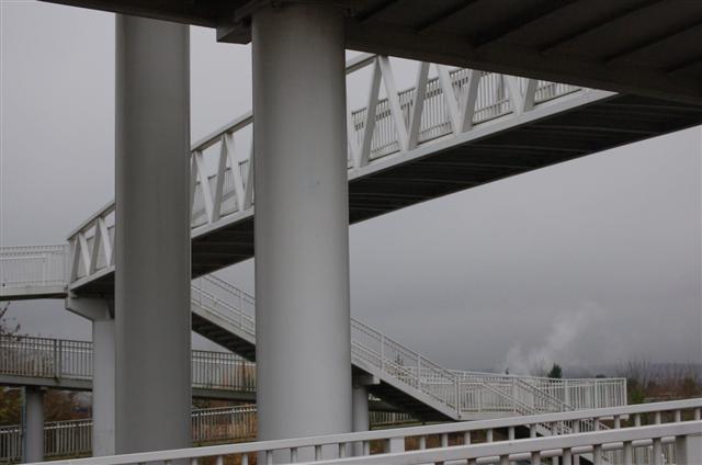 Footbridge over A92