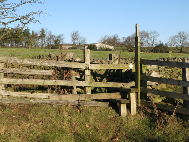 Footpath near Pasture House