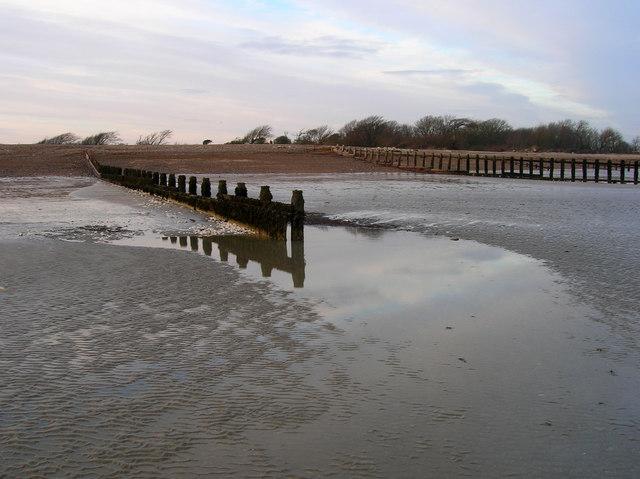 Groynes, Atherington Beach