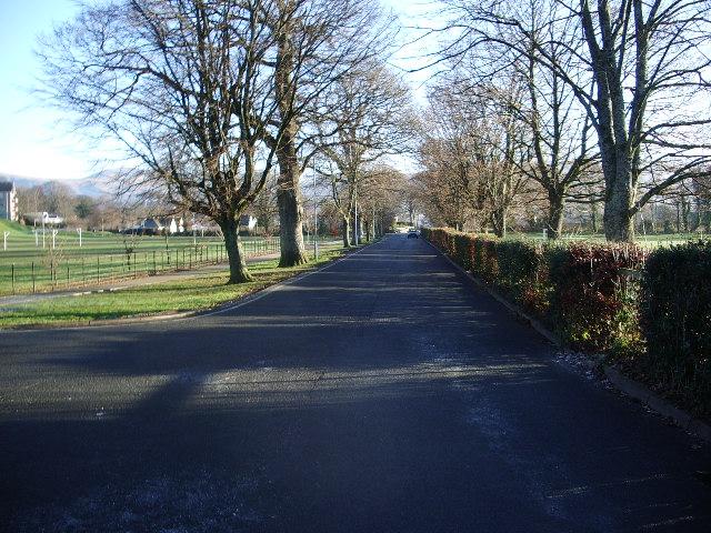 Road to Crosthwaite Church