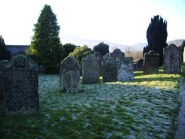 St Kentigern's Parish Church, Crosthwaite, Keswick, Graveyard