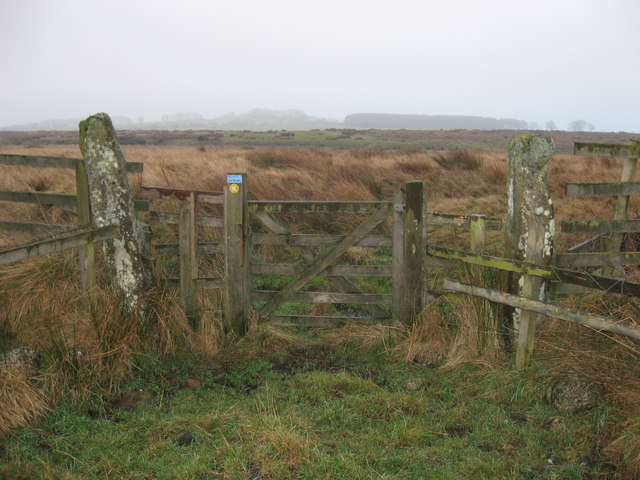 Gateway near Gallows Hill