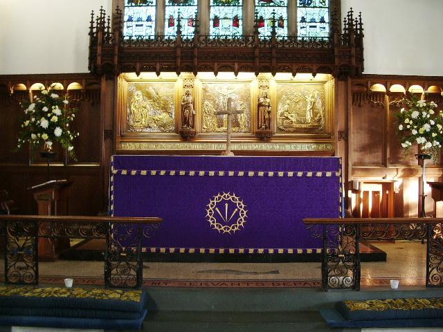 St Kentigern's Parish Church, Crosthwaite, Keswick, Altar