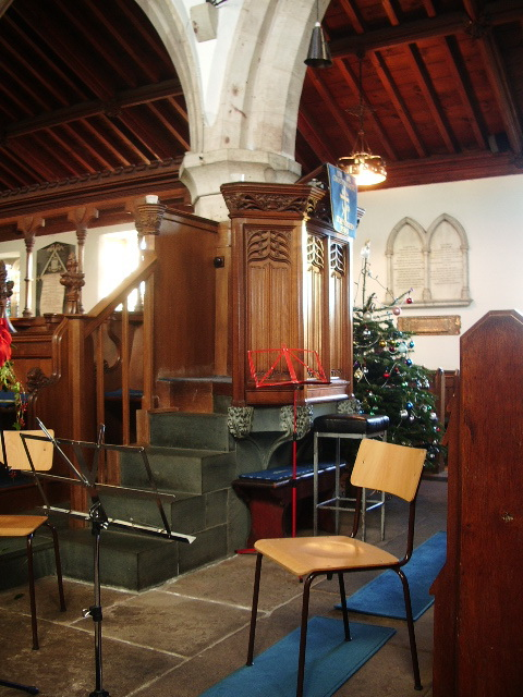 St Kentigern's Parish Church, Crosthwaite, Keswick, Pulpit